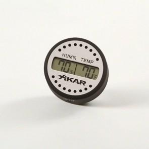 Xikar Digital Hygrometer Design rund