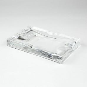 Zigarrenaschenbecher Glas 4er
