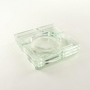 Zigarrenaschenbecher Glas Transparent 4er