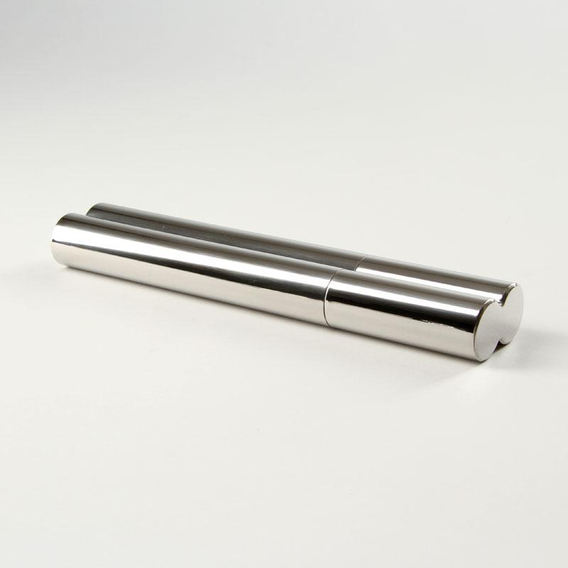 Basic Zigarren Tubo Chrom 2er