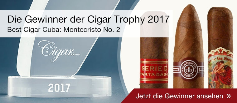 Die Gewinner der Cigar Trophy 2017 auf Noblego.de