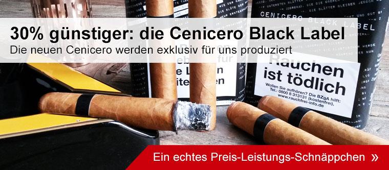 Die neuen Cenicero Black Label