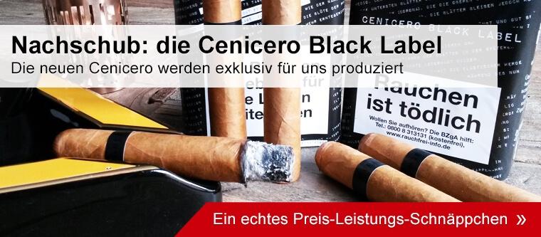 Cenicero Black Label auf Noblego.de