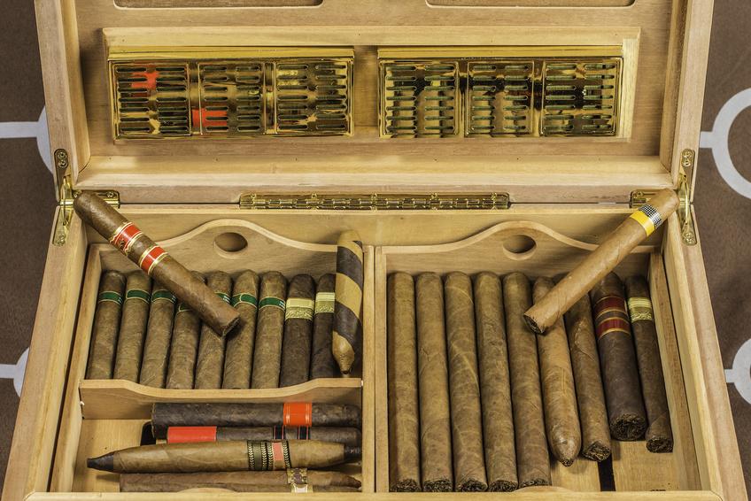 Zigarren im Humidor