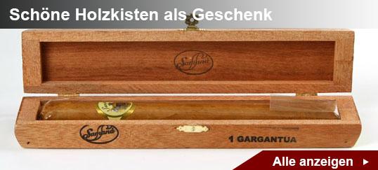 Zigarren in Holzkisten