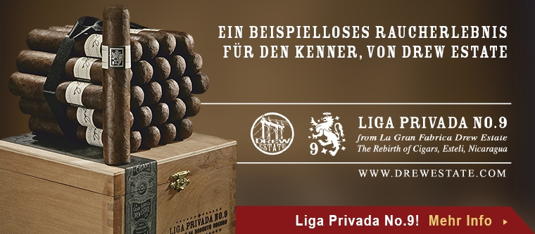 Drew Estate Liga Privada No. 9 auf Noblego.de