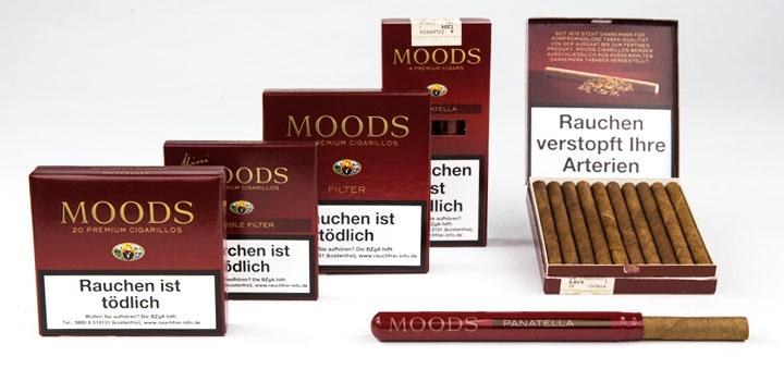 Moods Zigarillos auf Noblego.de