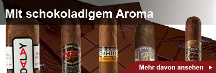Zigarren mit schokoladigem Aroma