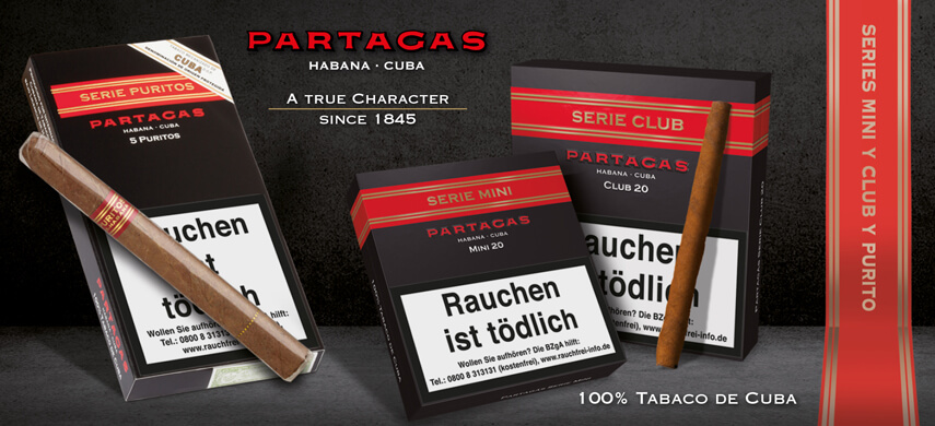 Partagas Series Mini, Club, Purrito