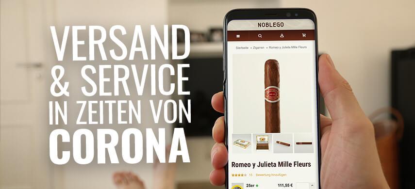 Versand & Service in Zeiten von Corona