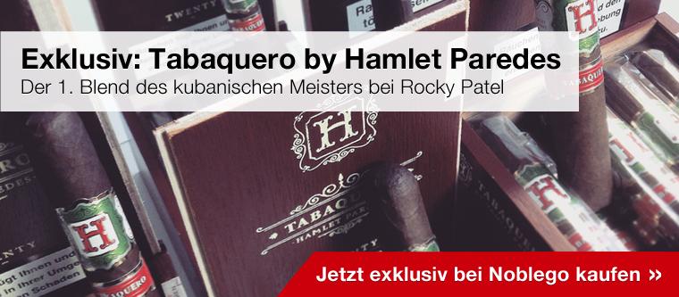 Exklusiv bei Noblego: Tabaquero by Hamlet Paredes & Rocky Patel