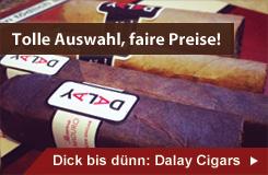 Dalay Zigarren - bestes Preis-Leistungs-Verhältnis