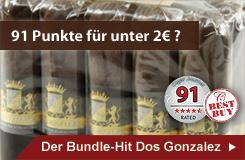 Zugreifen: Dos Gonzalez Zigarren mit 91 Cigar Journal Punkten!