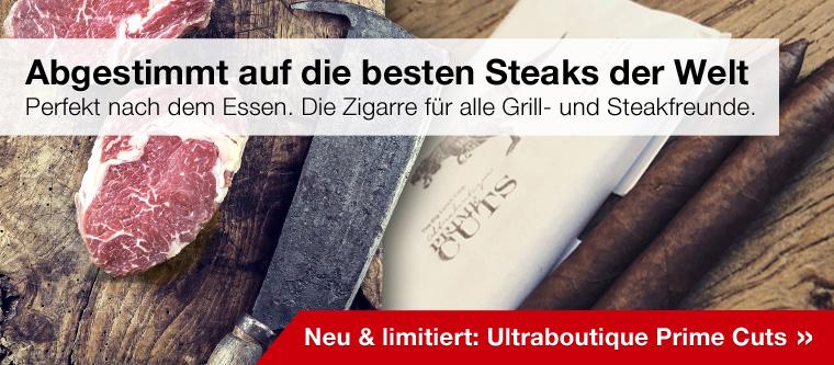 Die Zigarre zum Steak